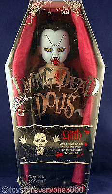 Living Dead Dolls-Lilith-Series 3 Factory 11'' Sealed Ldd Gothic