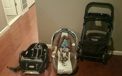 Graco Snugride  Click Connect Car Seat, and Stroller Combo