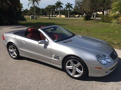 2005 Mercedes-Benz 500-Series SL 2005 500SL AMG clean title with manuals 43000 miles very clean