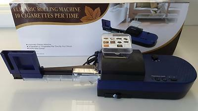 LARGE Electric Automatic Cigarette Rolling Machine Tubes Injector ! FREE TUBES!