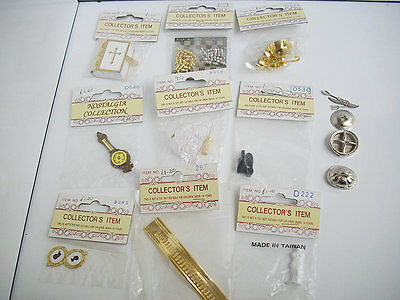 Dolls House Accessories Mixed Lot Chess Bible Brass Items New In Packet