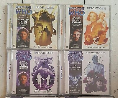 Doctor Who - Big Finish CD Bundle - The Lost Stories - 6 Different
