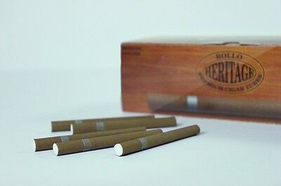 200 ROLLO Cigar Cigarette Tubes With FREE Injector BETTER THAN Memphis & Ventti!
