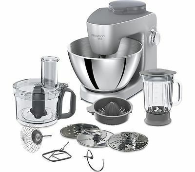KENWOOD Multione KHH321SI 4.3 Litre 1000W Stand Mixer - Silver