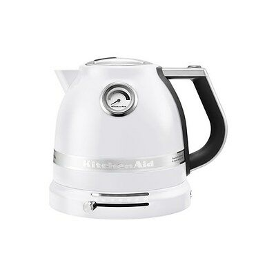 New KitchenAid Pro Line Electric Kettle 1.5L Frosted Pearl