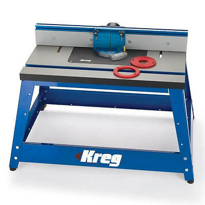"""Kreg PRS2100 - 16"""" x 24"""" ( 406mm x 610mm) Precision Benchtop Router Table - ON S"""