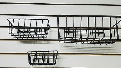 Pegboard Peg Board Display Panel Bins Baskets Shelf Storage Organizer slatwall
