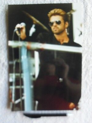 George Michael Professional On Stage Concert Glossy Photographs Pop Music