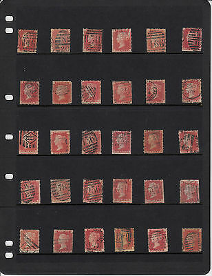 80% Discount Sg43/44 Plate 137 - Queen Victoria Individual Stamps