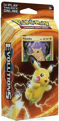 ( PIKACHU POWER ) - Theme Deck  Sealed & New - Pokemon Evolutions