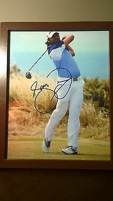 Framed Jason Day Autograph 8x10 picture