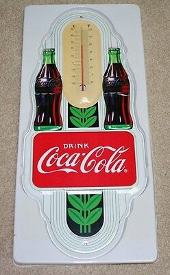 Coca Cola Metal Wall Thermometer