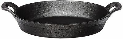 "American Metalcraft CIPOV9567 Cast Iron Oval Casseroles and Pots, 12"" Length x 6"