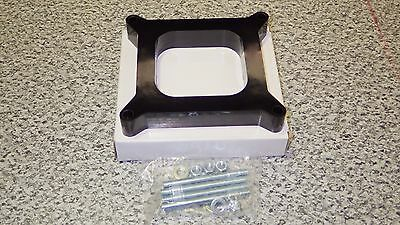 Carburetor Spacer 1 Inch Phenolic Square Bore 1 Hole Holley-Afb