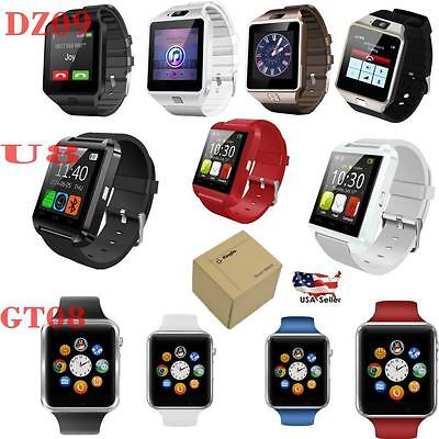 DZ09 U8s GT08 Unlocked Bluetooth Smart Watch Phone For iPhone Android Samsung LG