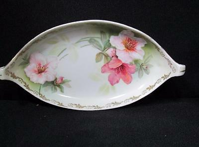 R S Tillowitz Silesia Germany Handpainted Candy Trinket Nuts Dish Kt49