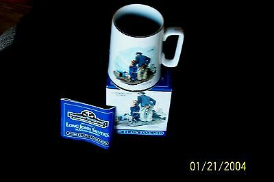 Norman Rockwell Seafarers Collection Looking Out To Sea Porcelain Tankard Nib