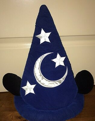 Walt Disney World Parks Mickey Mouse Fantasia Hat Sorcerer Apprentice Adult