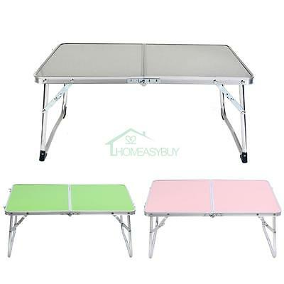 Portable Folding Laptop Desk Outdoor Camping Picnic Computer Notebook Table