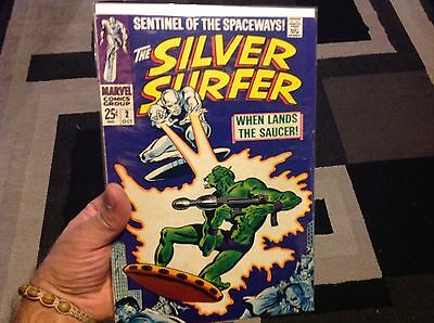 The Silver Surfer #2  $$value with free shipping very nice condition see picture