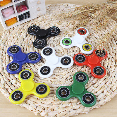 Tri Spinner Hand Fidget Plastic Sensory Stress Relief EDC Autism ADHD Adult Toy