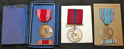 Wwii-Vietnam Era Us Army Air Force Usaf & Marine Corps Usmc Good Conduct Medals
