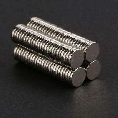 Hot 50Pcs/100Pcs N50 Strong Round Disc Magnets Rare-Earth Neodymium 12mm x 3mm