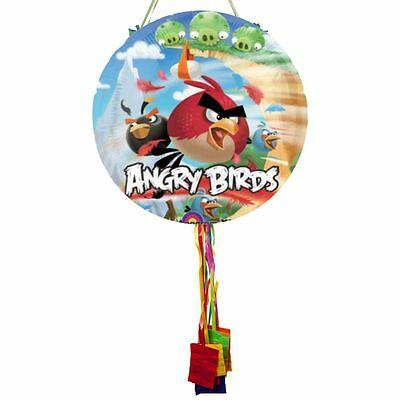 Angry Birds Pull String Pinata - Party Supplies