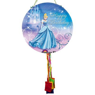 Cinderella Pull String Pinata - Party Supplies