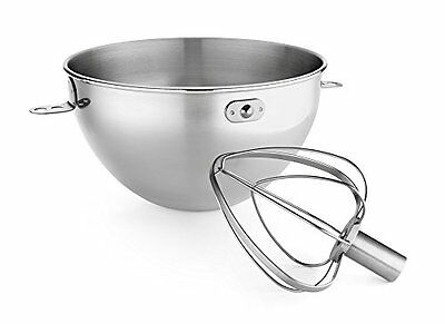 Stainless Steel Bowl & Combi Whip Kitchen Baking Cooking Kitchen Appliance New