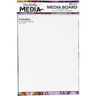 Dina Wakley Mixed Media Board - Large 9x12 - 3 Pack