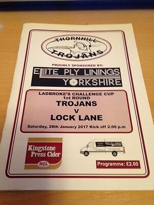 2017 Thornhill Trojans V Lock Lane - Rugby League Challenge Cup