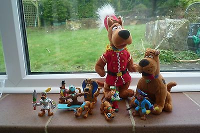 Scooby Doo Soft and Plastic Toys Superb Bundle