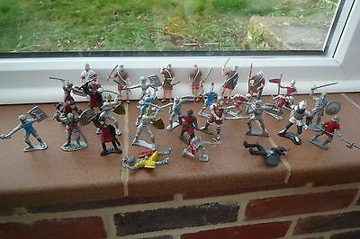 Knights and Roman Centurion Soldiers Plastic Figures
