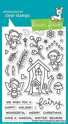 NEW Lawn Fawn Clear Stamps Christmas Winter Frosty Friends Stamps