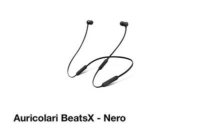 Beats by Dr. Dre BeatsX MLYE2ZM/A Auricolare Stereofonico Nero