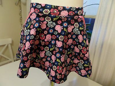 Peppa Pig - Floral Soft Cotton Skirt - Baby Girl - 6-9 Months - New