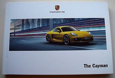 Porsche . Cayman . The Cayman . June 2013 Sales Brochure