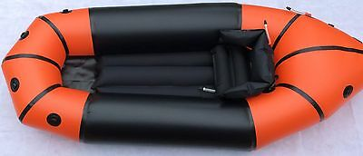 Packraft with Self Bailing Floor - New - Save $400  - Ultra Light Pack Raft