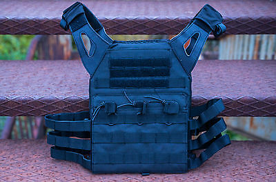 Tactical Plate Carrier Vest MOLLE Lightweight Operator JPC Style Airsoft