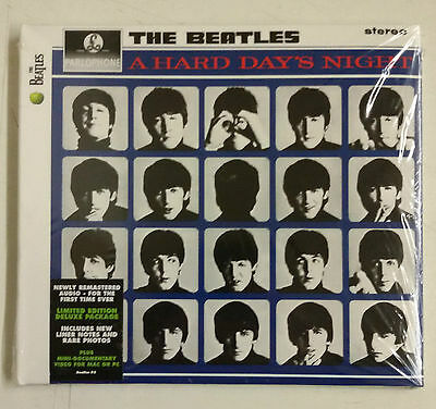 The Beatles A Hard Day's Night CD UK Remaster 2009 ecopack trifold