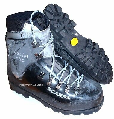 Scarpa - Inverno Mountaineering Black Boots - Uk 10 - Grade One - Sp1841