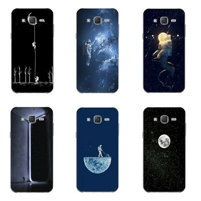Cases For Samsung Galaxy J5 2015 J5008 Soft TPU Silicone Back Cover Moonwalk