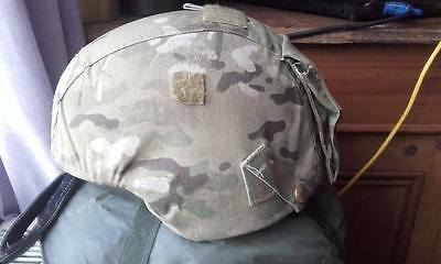 britih army helmet with cover large  s/f sas