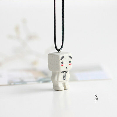 Zhang box hot network popularity danboard cartoon lovely hand ceramic necklace