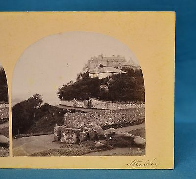 1860s Stereoview Photo Stirling Scotland Francis Frith