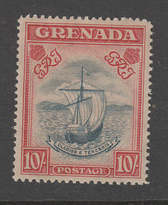 Grenada , Sg.163A Mh Toned Gum  Cv £225 Perf 14 , A Bit Toned On Front