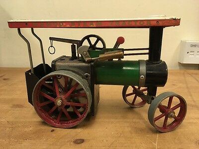Mamond Steam Tractor TE1A Vintage Collectible Antique
