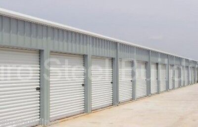 DURO Steel Self Storage 30x100x11.5 Metal Building Kit Prefab Structures DiRECT