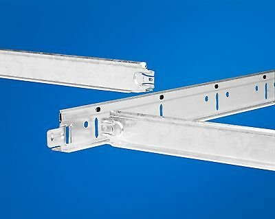 Suspended ceiling main runners 3600mm x 24mm in white